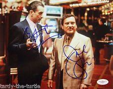Casino  8 x 10 Autograph Reprint   Robert DeNero   Joe Pesci