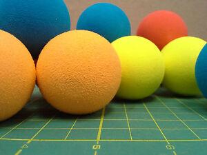 "Set of 25 pieces 1.75"" diameter Dense Foam Balls for sport practice"
