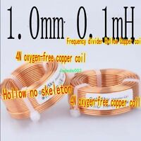 0.1mH~3.1mH OFC hollow Inductor coil 1.0mm Speaker Audio Frequency Divider parts