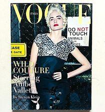Vogue Italia Unique n. 703 marzo 2009 Amber Valletta Steven Klein Paolo Roversi