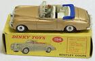 DINKY #194 BENTLEY S COUPE, METALLIC BRONZE, NEAR-MINT W/ VG BOX; RARE COLOR!