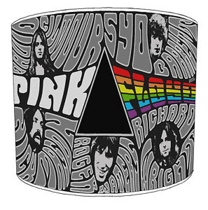 Pink Floyd Lampshades, Ideal To Match Decorative Quilts & Bedspreads