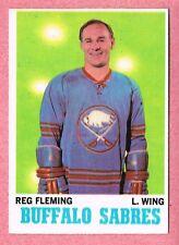 1970-71 70-71 O-PEE-CHEE OPC #128 Reg Fleming SET BREAK (2)