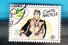 SAN MARINO FRANCOBOLLO COMICS FUMETTI CORTO MALTESE Usato  HUGO PRATT