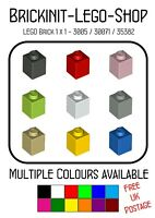 Lego 1x1 Brick (3005) x20 in a set  **Choose your Colour** BRAND NEW Star Wars