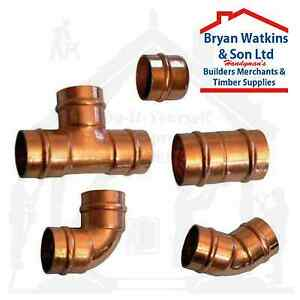 15mm Solder Ring Copper Yorkshire Plumbing Pipe Fittings Pre Soldered Microbore