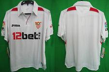 2009-2010 Sevilla FC Sevillistas Jersey Shirt Camiseta Home 12bet.com JOMA M NWT