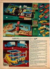 1975 ADVERTISEMENT Toys Matchbox Construction Office Building Land Rover Trailer