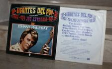 "johnny hallyday / ""gigantes del pop, vol 38"" stéréo 6395151 (LP) spain"