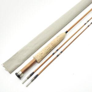 "Unmarked Custom-Built Bamboo Fly Fishing Rod. 7' 2"". 2/2."