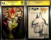 DC Comics BATMAN MAXX ARKHAM DREAMS #1 CGC SS 9.8 Virgin + Original Art Sketch 1