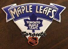 Toronto Maple Leafs NHL Logo Patch Iron On / Sew On 4.25x3 Inch