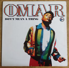 """OMAR, Don't Mean A Thing 12"""", Talkin' Loud Records"""
