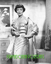 JANE WYMAN 8X10 Lab Photo B&W 1950s Older Graceful Movie Actress Portrait