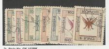 Albania, Postage Stamp, #54-61 Used, 1917