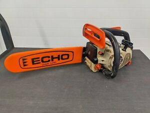 "Echo CS3000 Chainsaw 14"" Guide Bar Gas Powered Top Handle Working"