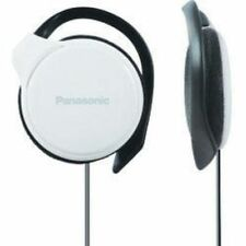 Panasonic RP-HS46 White Slim Clip-on Over Ear Stereo MP3 Player iPod Headphones