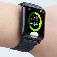 Bluetooth Smart Watch ECG + PPG Heart Rate Blood Pressure Monitor Sport Bracelet