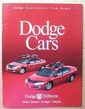 Alte Prospekte und Kataloge für Dodge Autos