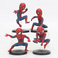 LOT DE 4 FIGURINES SPIDERMAN AVENGERS ENDGAME INFINITY WAR COLLECTION