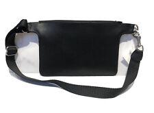 COACH USA Black Leather Fanny Pack Waist Bag