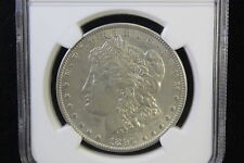 1896 O Morgan Silver Dollar $1 NGC AU 55 Lusterous and white