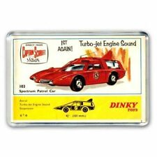 TV21 CAPTAIN SCARLET SPECTRUM PATROL CAR DINKY TOYS ADVERT - JUMBO FRIDGE MAGNET