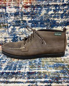 Eastland Seneca Brown Lace Up Leather Moc Toe Chuka Boots Women's Sz US 6.5 M