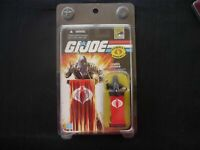 GI Joe Cobra leader Black Suit Comic Con SDCC action Figure  (T7) Hasbro