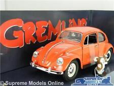 VOLKSWAGEN VW BEETLE GREMLINS MODEL CAR 1:24 SCALE LARGE FILM RED GREENLIGHT K8