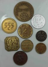 Mixed Lot of 9 Tokens  [3437
