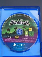 8 BIT INVADERS PS4 PLAYSTATION 4 AUS PAL CASE & DISC ONLY