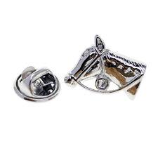 Lapel Pin Badges for Men Horse Head Lapel Pin Brooches