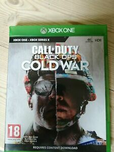 Activision Call of Duty Black Ops Cold War Xbox One Game