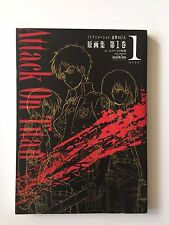 Attack On Titan Shingeki No Kyojin Art Book