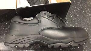 Mack BOSS Work Shoes SAFETY Boots size AU/UK 10 EURO 44 USA 11 LEATHER