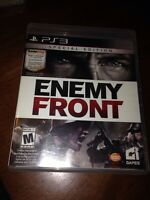 Sony PlayStation 3 Enemy Front Video Game Missing Soundtrack Disc