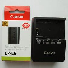 LP-E6 Battery & LC-E6E Charger Fr Canon 5D Mark II III 7D 6D 60D 60Da BG-E6 Grip