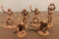 Vtg Marx Cavemen Brown