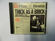 Jethro Tull - Thick as a Brick - CD 724349540026