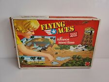 Rare Mattel Flying Aces Advance Island Base 9657 + 2 Extra Planes 1976 CIB USA