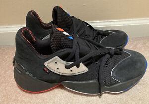 NWOB Adidas Harden Vol 4 Barbershop F97187 Basketball Shoe Sneaker Men's Size 12