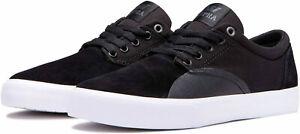 Supra Chino Skate / Casual Shoes Black/Black - White Mens US Size 8 New in Box