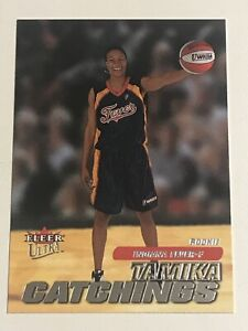2001 Fleer Ultra WNBA Tamika Catchings #127 Rookie. Beautiful!