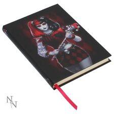 Oscuro BUFÓN en Relieve Diario Diario Cuaderno Libro de tapa dura Gótico Memo Pad Regalos