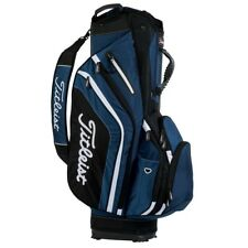 NEW Titleist Golf Lightweight Cart / Carry Bag 14-way Top Navy / Black / White
