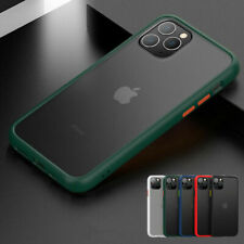 For iPhone 12 11 Pro Max XS XR X 8 7 Plus Shockproof Soft Slim Clear Case Cover