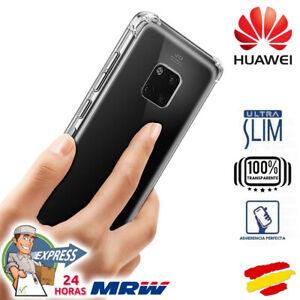 Funda TPU Silicona Transparente Ultrafina Resistente para todos móviles HUAWEI