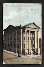 Posted 1913 view of Imperial Bank Building Edmonton, Alta, Canada