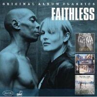 FAITHLESS-ORIGINAL ALBUM CLASSICS (REFERENCE,SUNDAY 8PM,OUTROSPECTIVE) 3 CD NEU